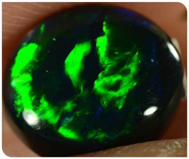 1.05ct Black Opal - ID:20549 Top black opal with N1 body tone