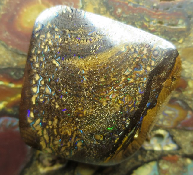69cts.BOULDER MATRIX OPAL, MINER 2U DIRECT!
