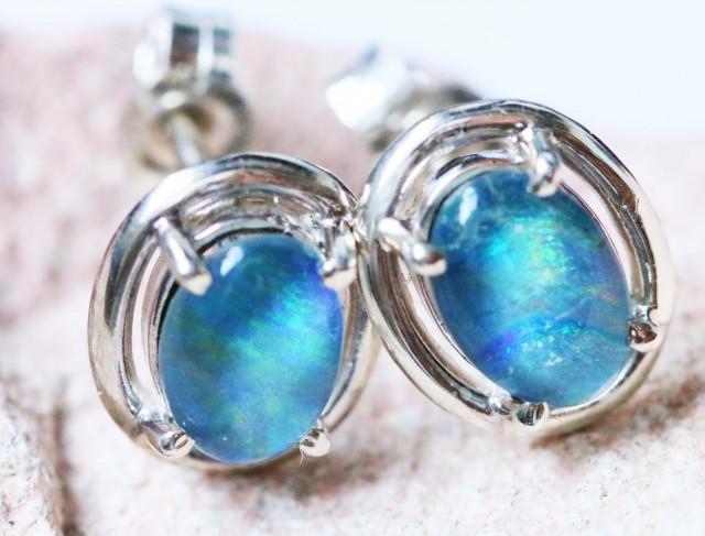 Cute triplet  opal earrings sets BU 1179