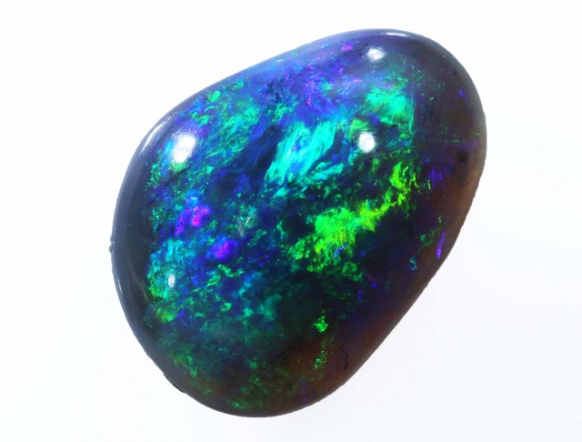1.25 CTS BLACK  OPAL - LIGHTNING RIDGE- SAFE [SO6803]WB