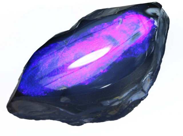 111.55 CTS BLACK  OPAL SPECIMEN - LIGHTNING RIDGE- [SO6812]