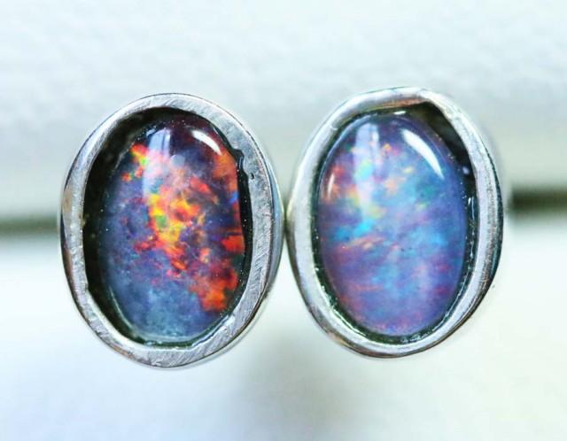 Cute Triplet Silver Earring  BU 1233