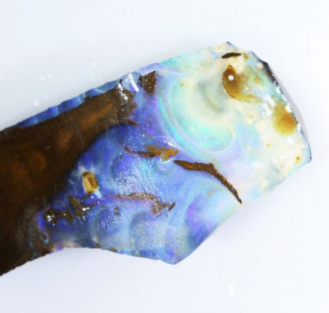 54.40 CTS  BOULDER OPAL ROUGH -OLD STOCK [BY4677 ]