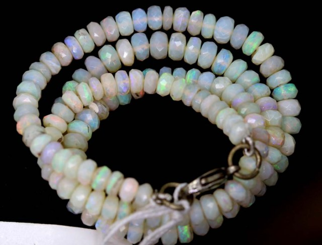 62 CTS COOBER PEDY WHITE OPALBEADS TBO-4465