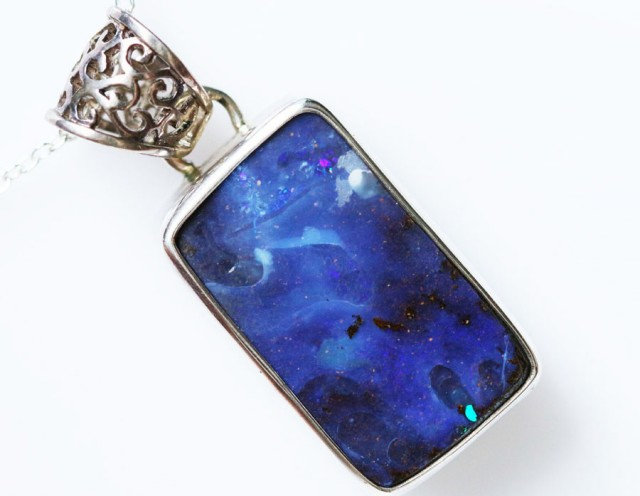 BOULDER OPAL PENDANT -FACTROY DIRECT [SOJ1600]