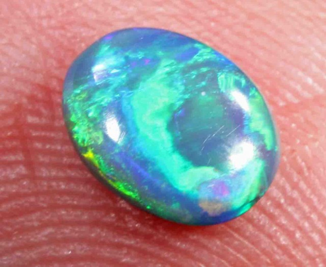 0.99 CTS  BLACK OPAL FROM LR -   581427