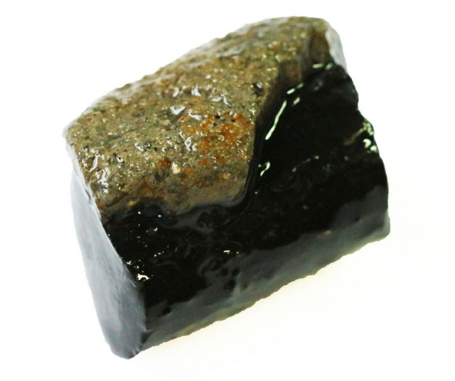 67.95 CTS INDONESIAN NATURAL BLACK POTCH [VS7065 ]