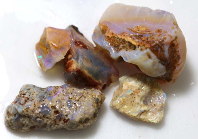30 CTS OPAL FOSSIL WOOD PARCEL FO-653