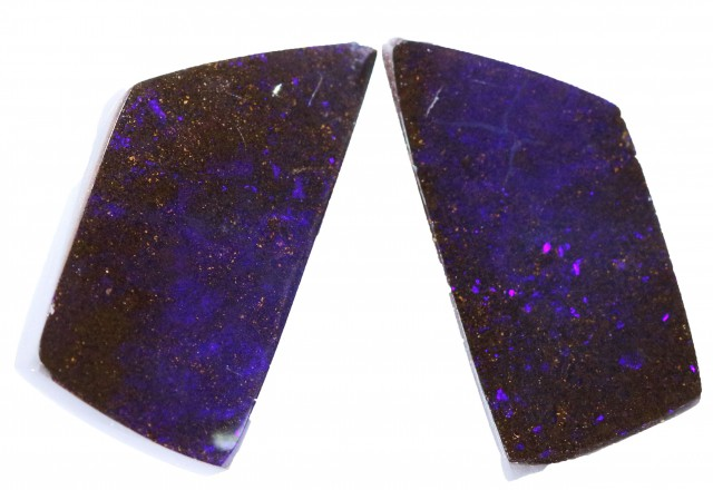 16.65 CTS BOULDER OPAL PAIR -WELL POLISHED [SH1011 ]