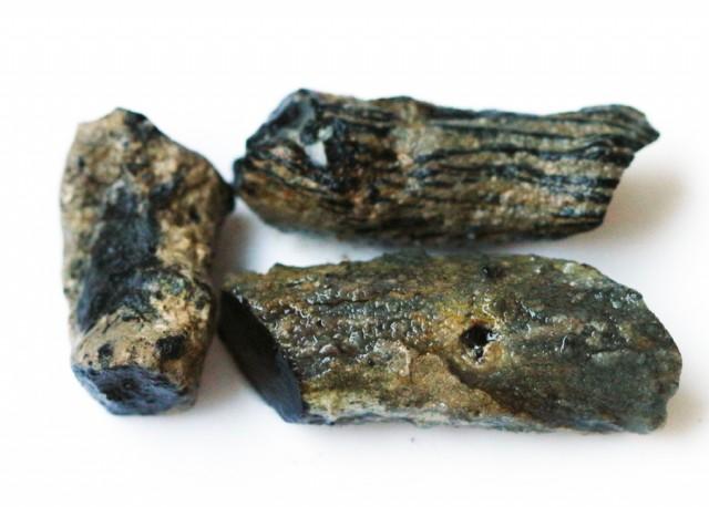 86.8 CTS INDONESIAN NATURAL BLACK POTCH PARCEL DEAL [VS7102]