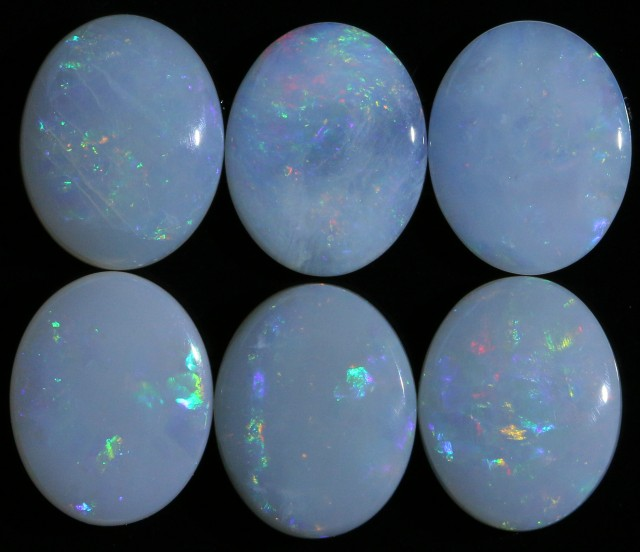 7.42 CTS WHITE FIRE OPAL STONE DEAL [CP6101]