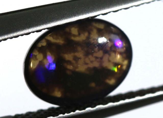 N-1 0.9 CTS BLACK OPAL STONE  TBO-4828