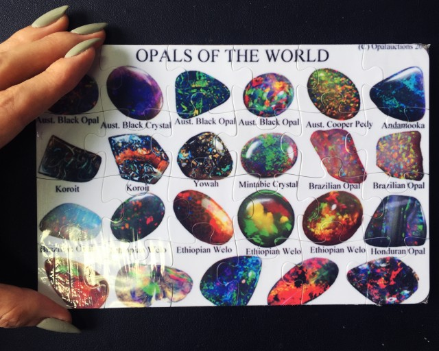 Opal Jig Saw Puzzle OPALS OF THE WORLD aaa