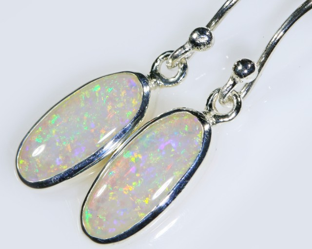 Crystal opal drop design earrings BU1701