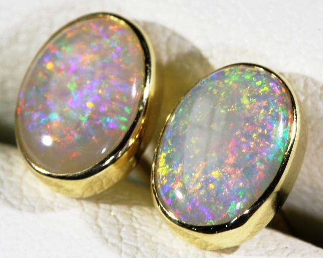Crystal opal earrings  BU1706