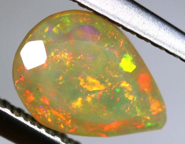 0.85 CTS ETHIOPIAN WELO FACETED STONE FOB-681