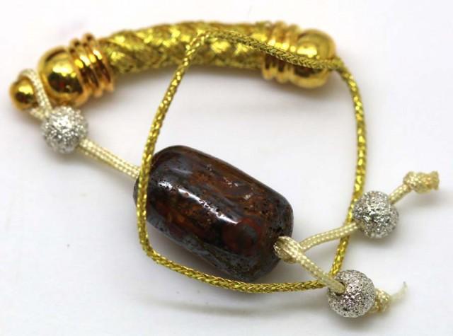 20 CTS Australian Yowah Opal Phone Chain LO-3891