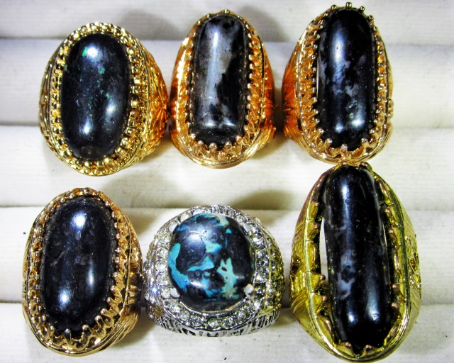 Indonesian Opal Rings