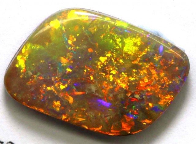 BOULDER OPAL POLISHED STONE 12.64 CTS  INV-287