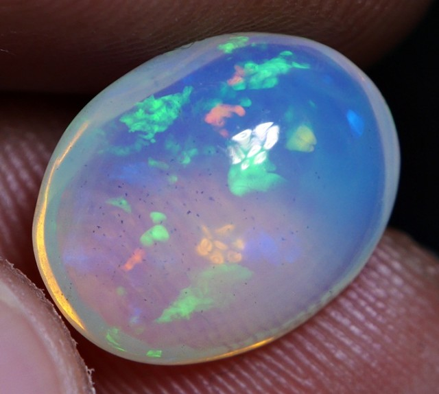 2.90 CRT BRILLIANT WELO RIBBON SMALL MULTY COLOR WELO OPAL