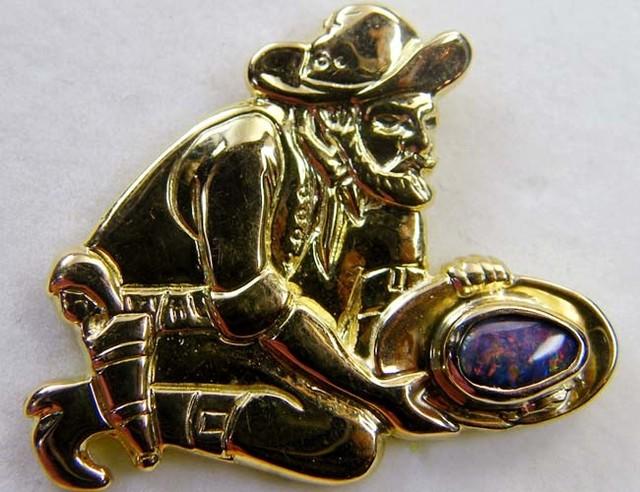 Estate jewellery 18 k gold stamped hallmark 750 TB20
