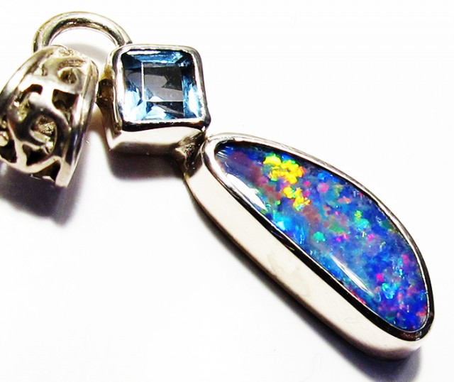 DOUBLET OPAL AND TOPAZ -FACTORY DIRECT [SJ4152]
