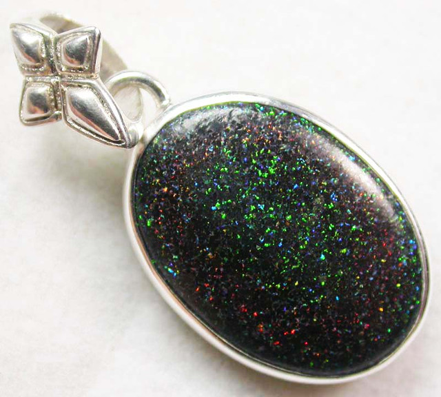FAIRY OPAL SILVER PENDANT -FACTORY DIRECT 23.00 CTS [SJ1604]