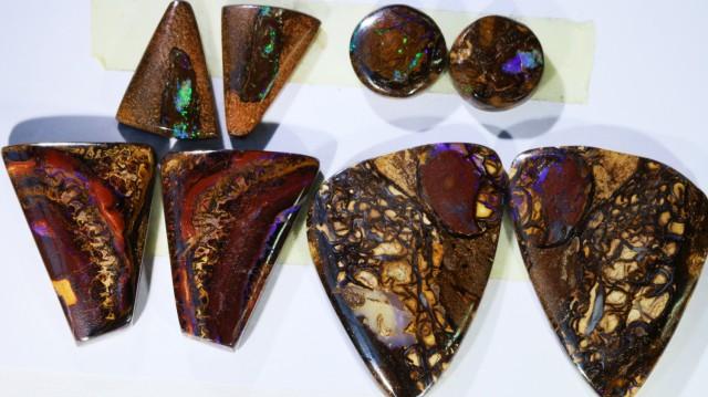178.30 Cts  Parcel 4 pairs Yowah opal s  BU 2072