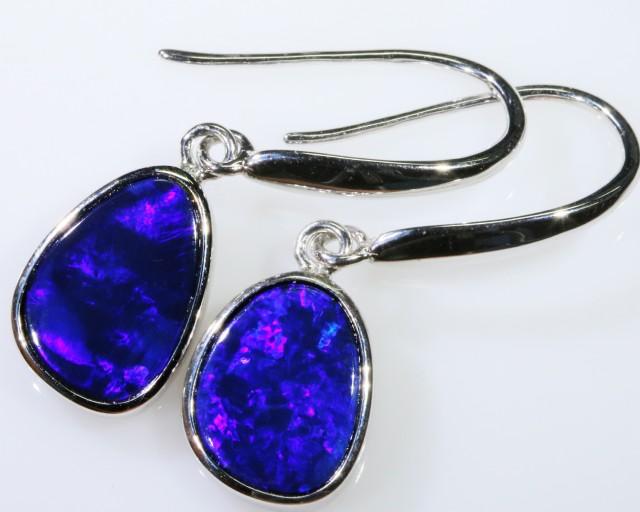 Cute Opal Doublet Earring SB 140