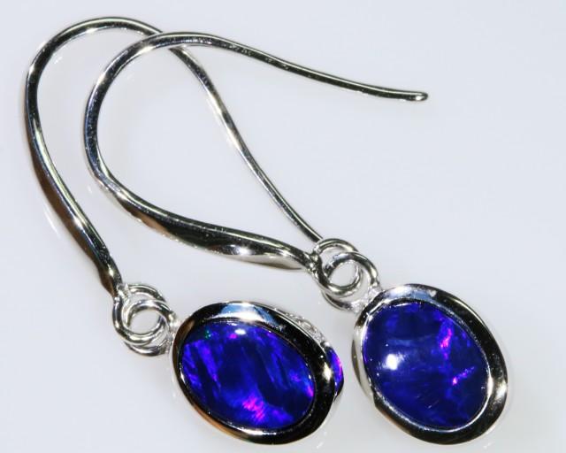 Cute Opal Doublet Earring SB 154