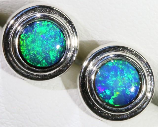 Cute Opal Doublet Earring SB 157