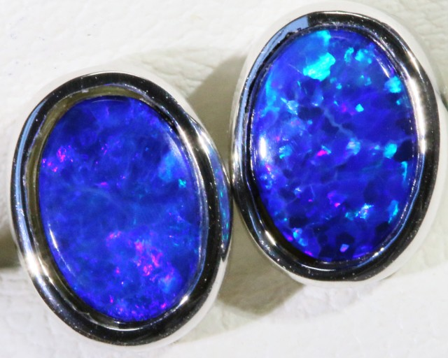 Cute Opal Doublet Earring SB 158