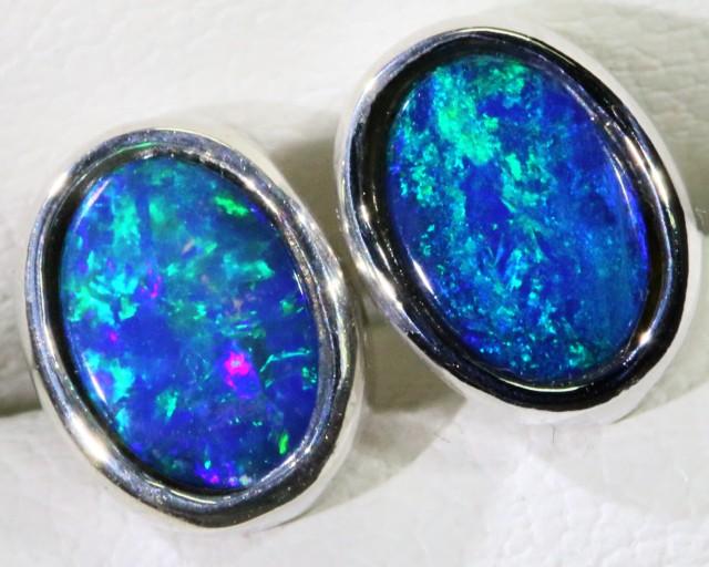 Cute Opal Doublet Earring SB 160
