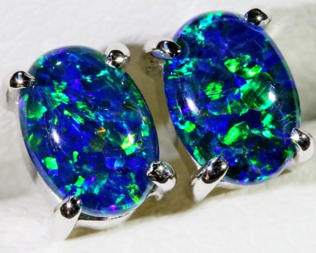 Gem Opal Triplet Earring SB 162