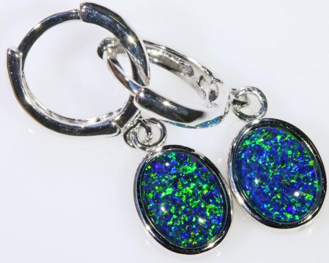 Gem Opal Triplet Earring SB 202