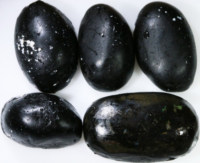 101.20 CTS INDONESIAN NATURAL BLACK POTCH PARCEL DEAL [VS7232]
