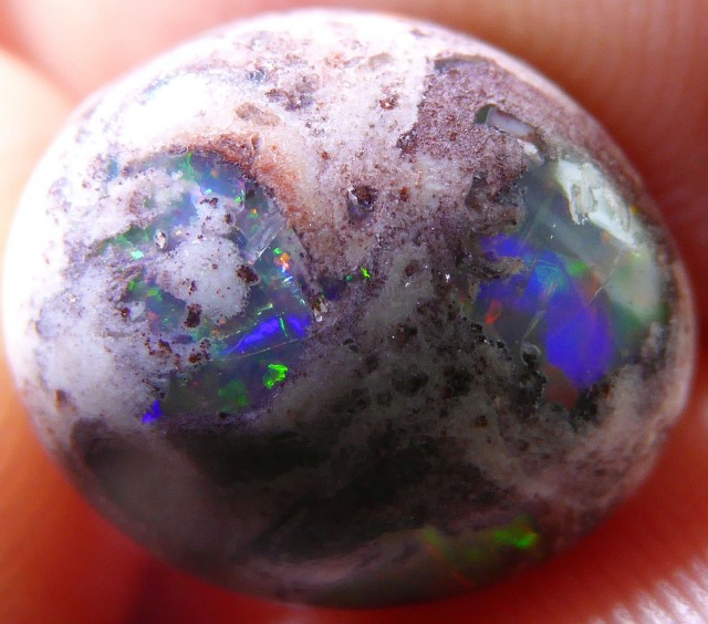 7ct. Mexican Matrix Opal Landscape Cantera Wire Wrap Ready