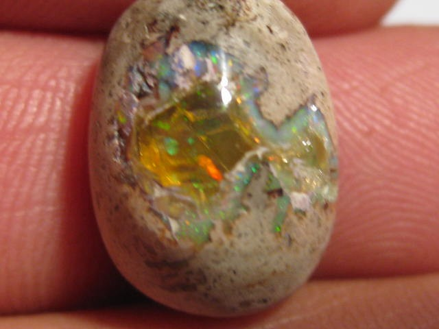 OpalWeb - Natural Gem Mexican Opal - 9.2Cts.