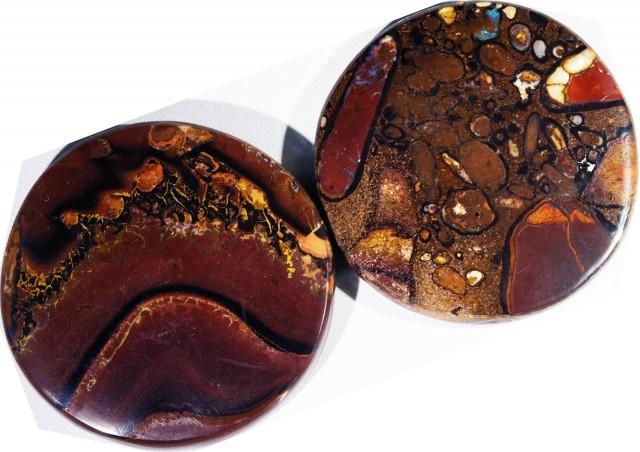 347.45 Cts Pair Koroit opals  BU 2267