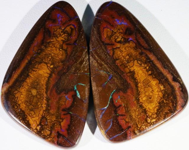 171.90 Cts Pair Koroit opals  BU 2268