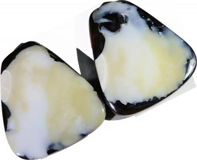 356.60 Cts Pair Koroit opals  BU 2274