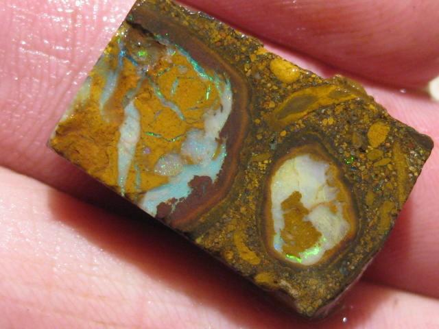 OpalWeb *30.6Cts - Yowah Boulder Matrix Opal 'RUBS'