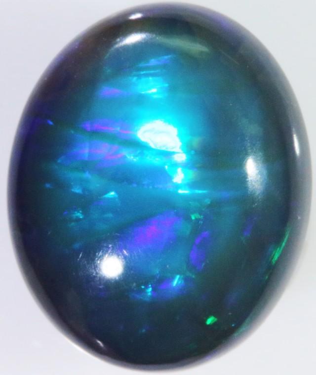 Black Opal rolling Flash  Lightning Ridge BU2285