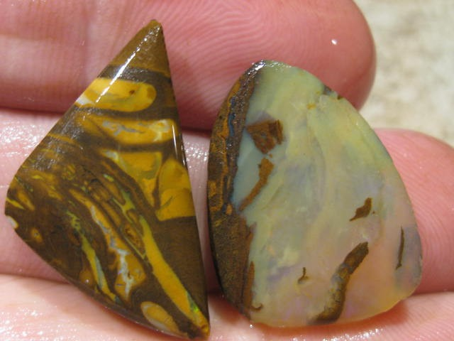 OpalWeb *41.6Cts - Yowah Boulder Matrix Opal 'RUBS'