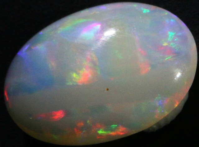 2.10 CTS WHITE FIRE FREE FORM OPAL STONE  DEAL [CP1828]