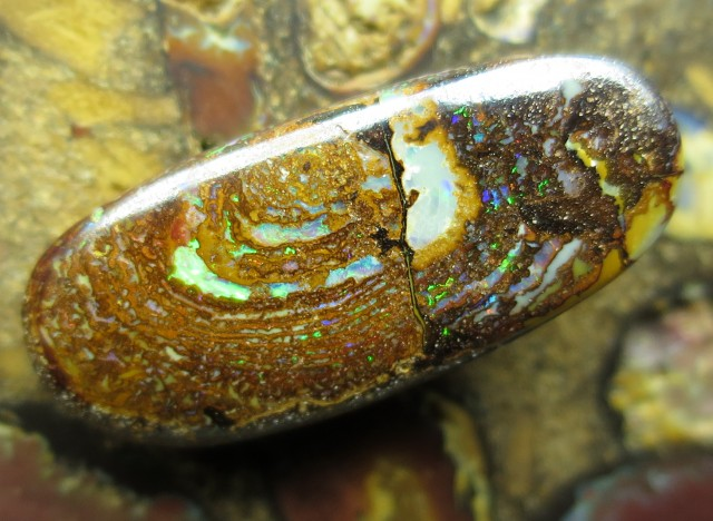 14cts.WHOLESALE GEM BOULDER MATRIX OPAL,