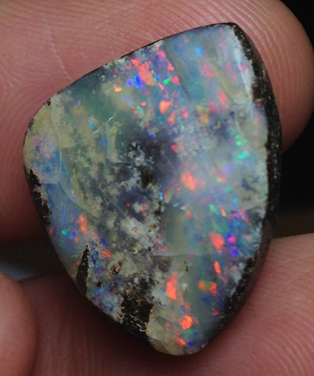 BARGAIN BUY IT NOW Boulder Opal Picture Stone AB925 21.5cts