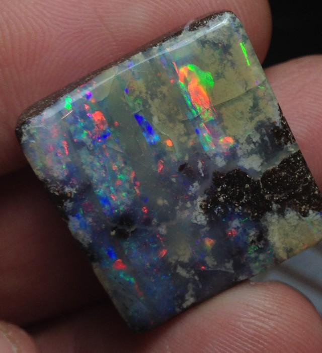 BARGAIN BUY IT NOW Boulder Opal Picture Stone AB932 46cts