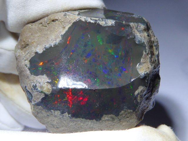 25.45ct Rough Opal Specimen Ethiopian Estayish Mine