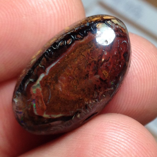 BARGAIN BUY IT NOW Boulder Opal Picture Stone Ac33 22.5cts